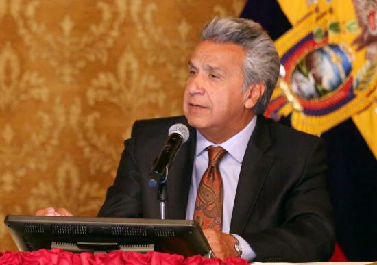 Lenín Moreno emprenderá su primer viaje oficial este lunes 18 de septiembre