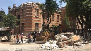 Al menos 47 muertos tras terremoto de 7 grados en México