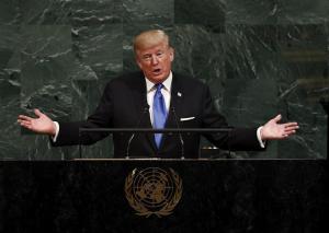 Donald Trump asegura que Venezuela está 'al borde del colapso total'.