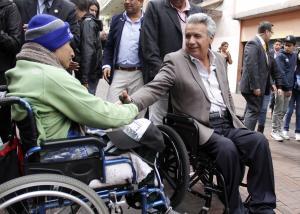 El presidente Lenín Moreno goza de un 77% de aprobación, 11 % más que en mayo