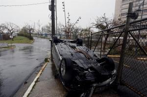 María deja daños 'severos' en Puerto Rico y 9 muertes en las Antillas Menores