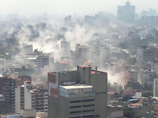 Terremoto golpea a México después de un simulacro