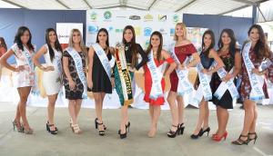 Las candidatas a Reina del Comercio de Portoviejo fueron presentadas