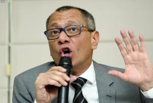 Vicepresidente Jorge Glas afirma que hay una conspiración en su contra