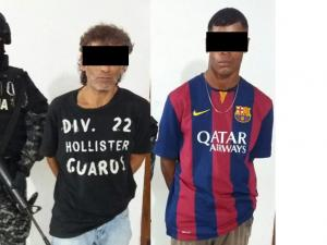 Acusados de vender drogas