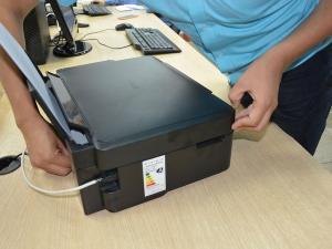 Instala tu impresora  nueva