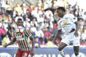 Liga de Quito queda eliminado de la Copa Sudamerica pese a vencer 2-1 a Fluminense en Quito