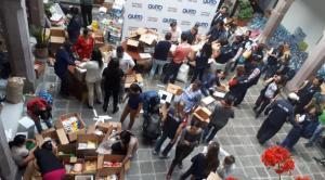 Ecuador envía 13 toneladas de ayuda humanitaria a México tras terremoto