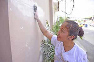 Angie, la pintora