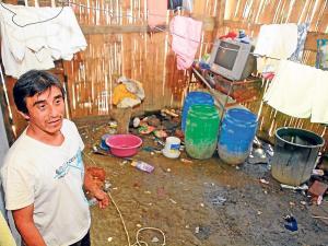 Familia vive con $120 al mes en Picoazá