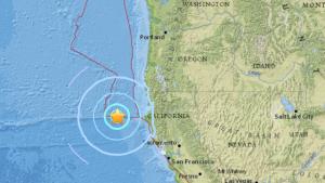 Sismo de 5,7 grados de magnitud sacude costa del norte de California