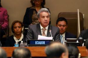 Moreno arremete contra evasión fiscal que socava financiación para desarrollo