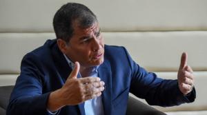 Correa no descarta pedir una Constituyente ante la situación que vive Ecuador