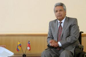 Presidente Moreno llama por teléfono a Peña Nieto y ratifica su apoyo a México