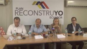 $210 millones para la reconstrucción de Manabí y Esmeraldas