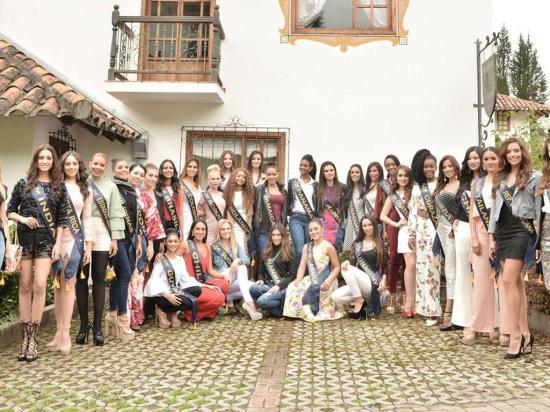 33 bellas van por la corona de Miss Continentes Unidos