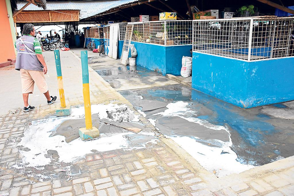 Reclaman reparar red de agua salada en sector playita m a el diario ecuador - Reparar filtraciones de agua ...