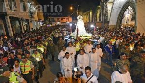 Portoviejo: Más de 50 mil personas se unieron a la procesión de la Virgen de la Merced