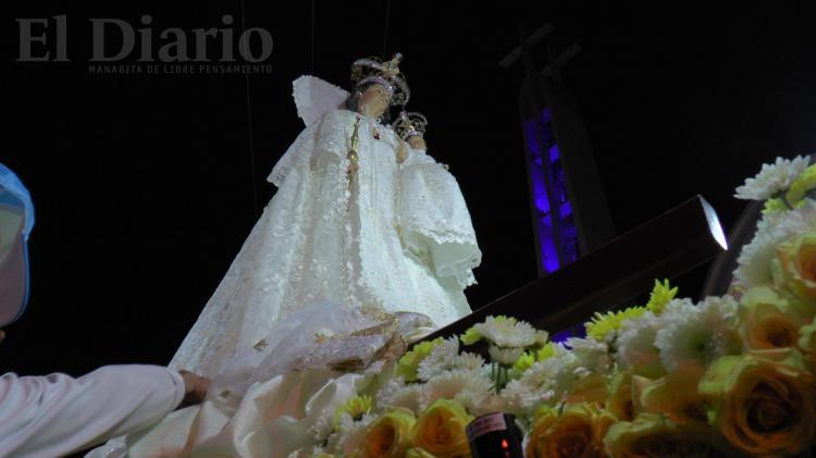 La fe y devoción por la Virgen de la Merced se toman las calles de Portoviejo
