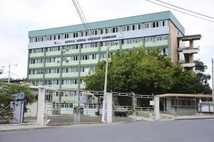 El hospital con un piso menos