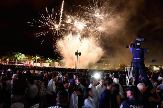 Lleno total en el parque La Rotonda por su inauguración