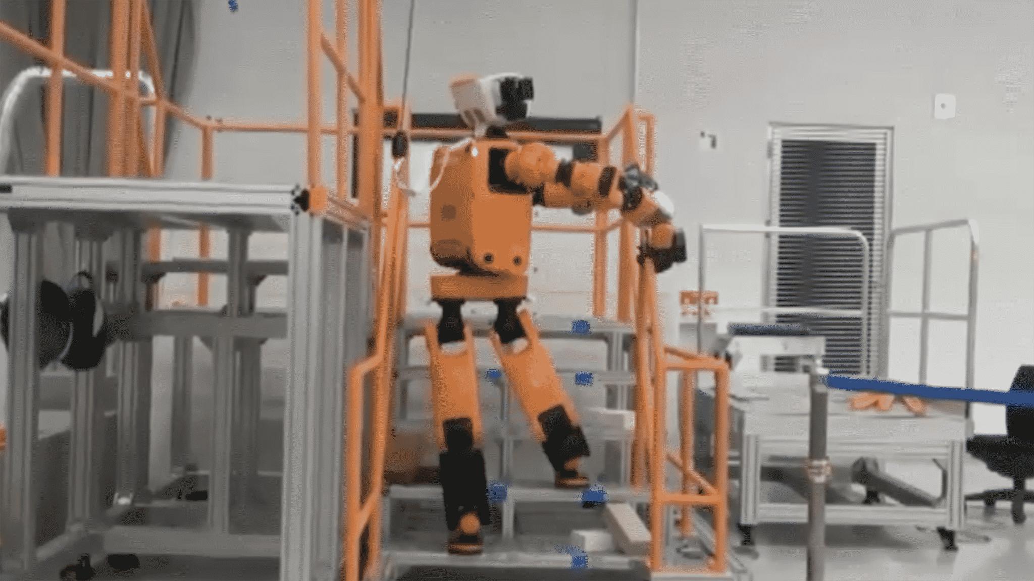 Crean un robot rescatista