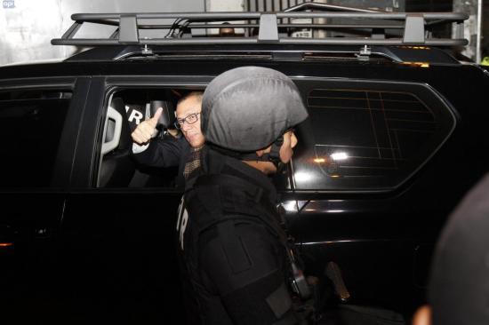 Vicepresidente Jorge Glas quedó detenido en la cárcel 4 de Quito
