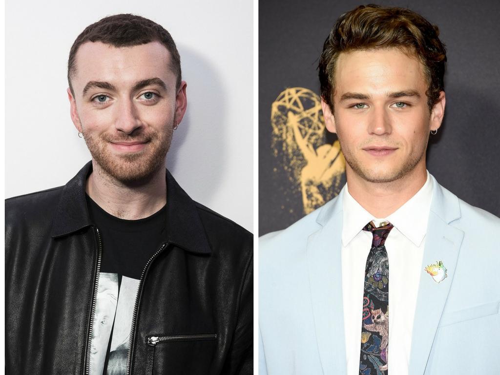 Actor de serie de Netflix y un cantante británico se besan en público