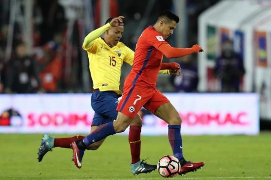 Ecuador perdió ante Chile y el sueño mundialista se esfumó (2-1)