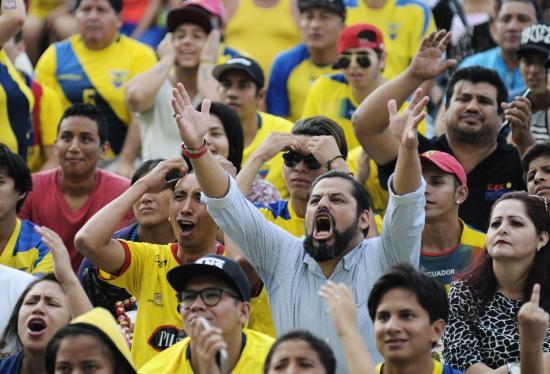Ecuador, sin opciones de llegar a Rusia 2018 [TABLA DE POSICIONES]