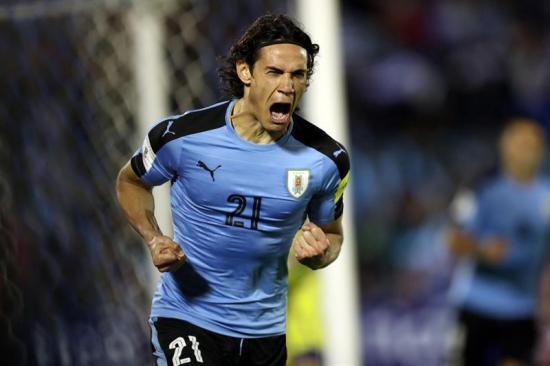 Uruguay vence por 4-2 a Bolivia y sella su boleto a Rusia 2018