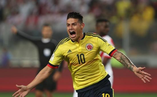 Colombia clasifica a Rusia 2018, Perú va al repechaje [1-1]