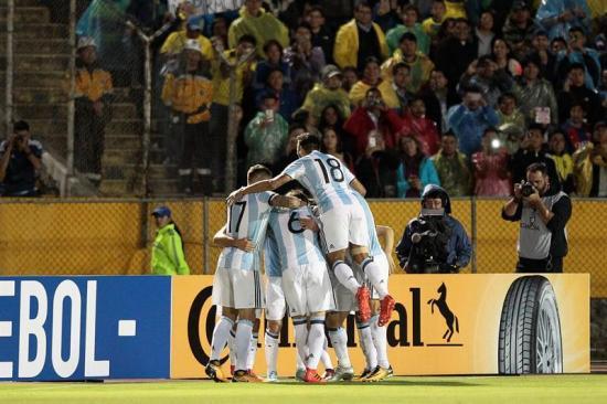 Argentina vence por 1-3 a Ecuador y clasifica a Rusia 2018