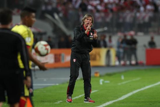 Gareca: 'Vamos a hacer lo imposible para clasificar al Mundial'