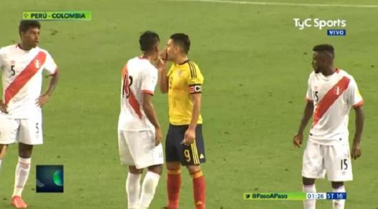 Falcao habría convencido a los peruanos de 'arreglar' el empate entre Colombia y Perú