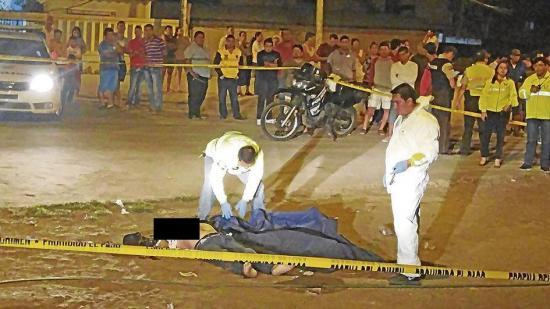 Manta: Sicarios matan a un hombre en el barrio Altamira