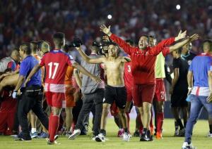 Infantino asegura que 'ha llegado la hora del VAR' tras gol fantasma de Panamá