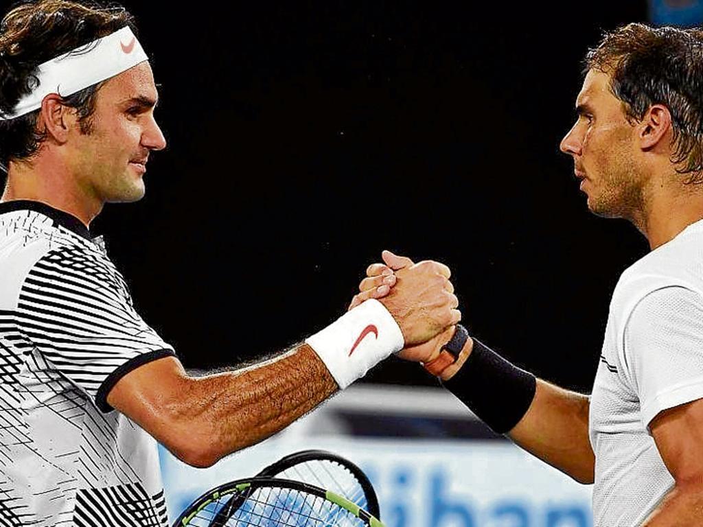 Federer y Nadal disputan una final en Shanghai