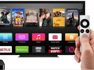 Apple busca crear propio contenido de TV, firmó acuerdo con compañías