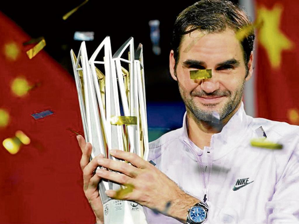Federer derrotó a Nadal en algo más de  una hora