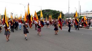 Ultiman detalles previo al desfile por los 197 años de Independencia de Portoviejo