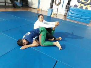 Judo contra  el maltrato