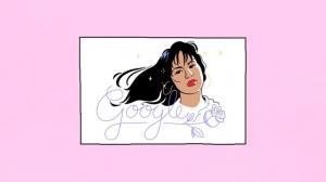 Google rinde homenaje a la cantante Selena Quintanilla con un 'Doodle'