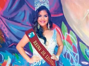 Fernanda Espinoza  es la nueva soberana  de Leonidas Plaza