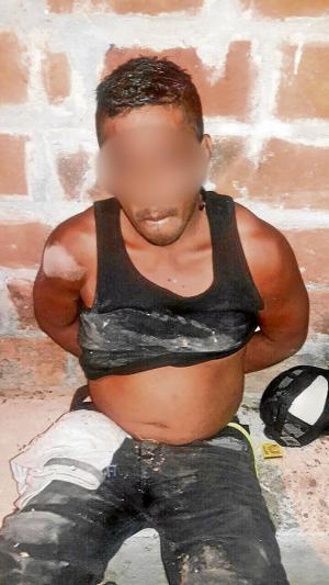 Policía lo detiene por droga y robo