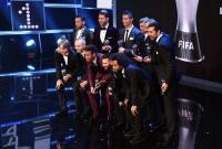 Cuatro sudamericanos destacan en el 'once ideal 2017' de la FIFA