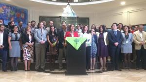 Ministros ecuatorianos respaldan a Moreno y piden autocrítica a Alianza País