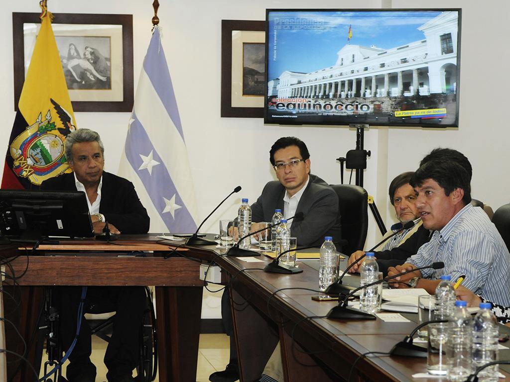 """Moreno reitera """"cero tolerancia"""" en torno al abuso contra menores   El  Diario Ecuador"""