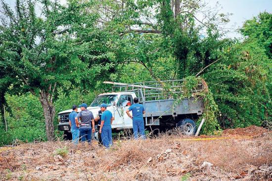 Dos muertos en atentado criminal en Santa Rita, Chone