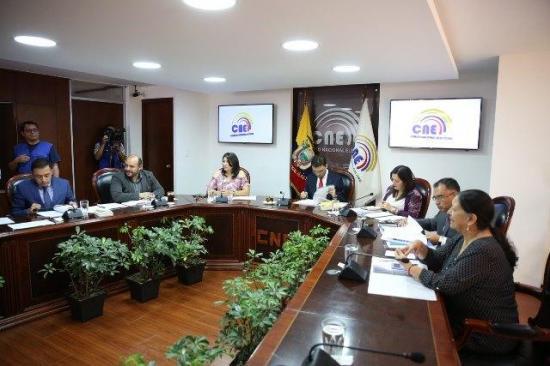 CNE acata pronunciamiento que ratifica a Lenin Moreno como presidente de Alianza PAÍS